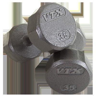 Power Systems 56206 12 Sided VTX Cast Dumbbell - Black