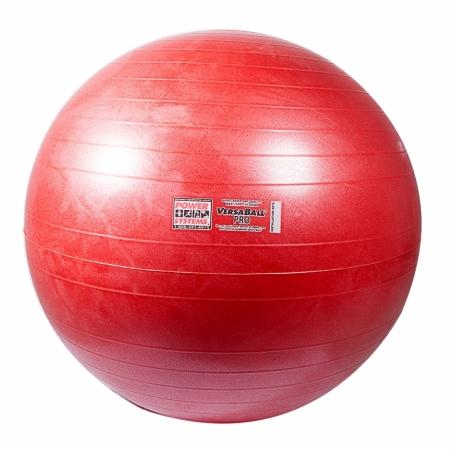 Power Systems 80111 55cm VersaBall Pro Stability Ball - Calypso Berry