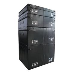PowerSystems 20674 12 in. Foam Plyo Box