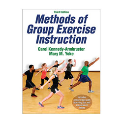 PowerSystems 78177 Methods of Group Exercise Instruction - 3rd Edition with Online Video