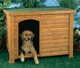Precision Pet 2700-1SMALL Log Cabin - Small - 33.5 x 24.6 x 22 Inch