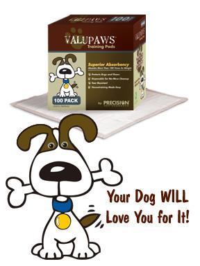 Precision Pet VPPad-100 ValuPaws Housebreaking Pads