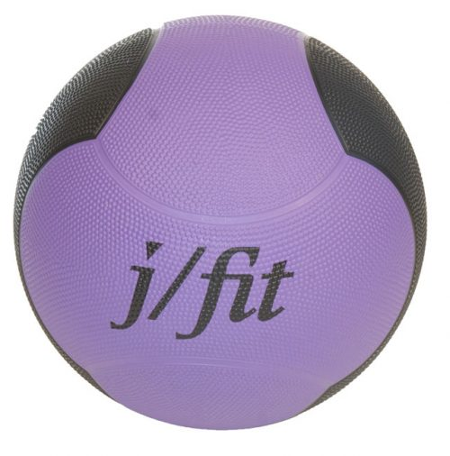 Premium Med Ball 10lbs - Purple-black