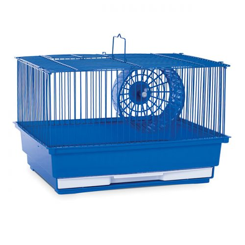 Prevue Pet Products SP2000B Prevue Hendryx Single Story Hamster & Gerbil Cage- Blue