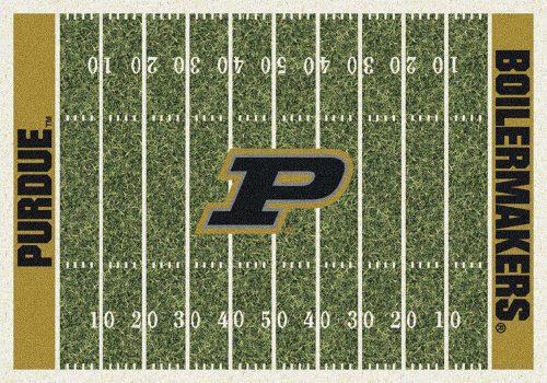 "Purdue Boilermakers 3' 10"" x 5' 4"" Home Field Area Rug"