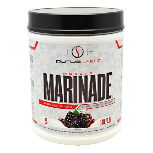 Purus Labs 7330038 Muscle Marinade Dietary Supplement Blackberry & Cherry - 25 Per Serving
