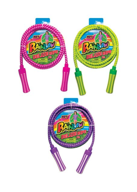 Rainbow 758 Deluxe Jump Rope - pack of 24