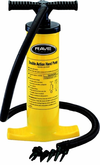 Rave Sports 02341 Rave Sports Double Action Hand Pump