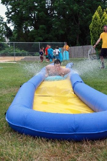 Rave Sports 02471 Turbo Chute Water Slide Backyard Package