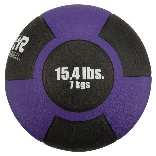 Reactor Rubber Medicine Ball 7kg Purple