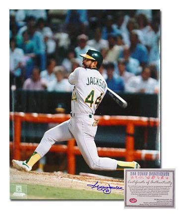 "Reggie Jackson Oakland Athletics Autographed 16"" x 20"" Photograph (Unframed)"