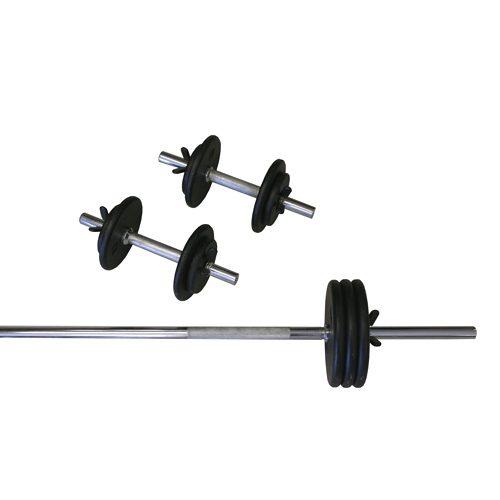 Regular 110lb Weight Set