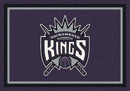 "Sacramento Kings 3' 10"" x 5' 4"" Team Spirit Area Rug"