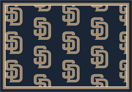 "San Diego Padres 2' 1"" x 7' 8"" Team Repeat Area Rug Runner"