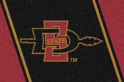 "San Diego State Aztecs 3'10""x 5'4"" Team Spirit Area Rug"