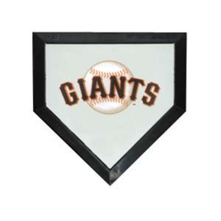 San Francisco Giants Licensed Authentic Pro Home Plate from Schutt