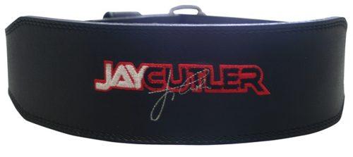 Schiek Sports S-J2014XL 4 in. Black Leather Jay Cutler Signature Belt-XL
