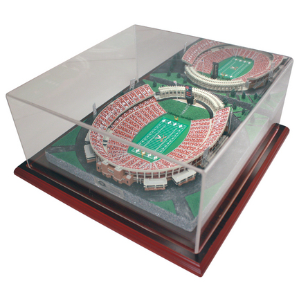 Scott Stadium (Virginia Cavaliers) Limited Edition Replica with Collector Case - Gold Series