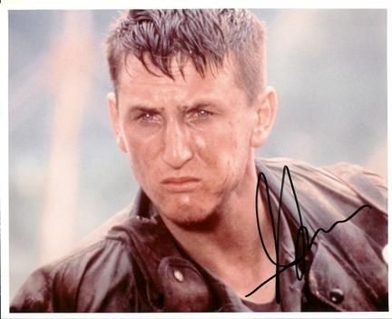 "Sean Penn Autographed 8"" x 10"" Photograph (Unframed)"