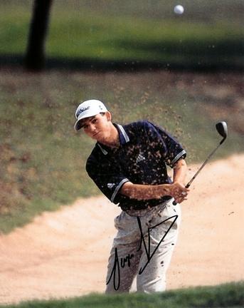 "Sergio Garcia Autographed Golf 8"" x 10"" Photograph (Unframed)"