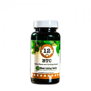 Silver Lining Herbs k12c BTC 12 BTC Bone Tissue and Cartilage Support