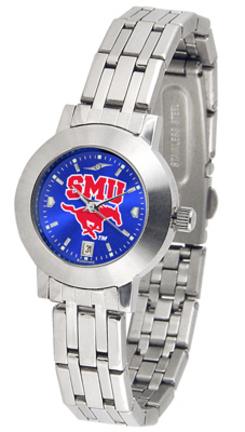 Southern Methodist (SMU) Mustangs Dynasty AnoChrome Ladies Watch