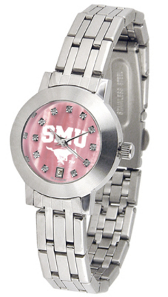 Southern Methodist (SMU) Mustangs Dynasty Ladies Watch with Mother of Pearl Dial