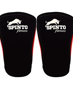 Spinto USA 9160046 7 mm Elbow Sleeves Black - Large
