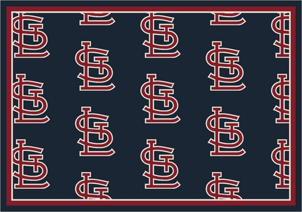 "St. Louis Cardinals 2' 1"" x 7' 8"" Team Repeat Area Rug Runner"