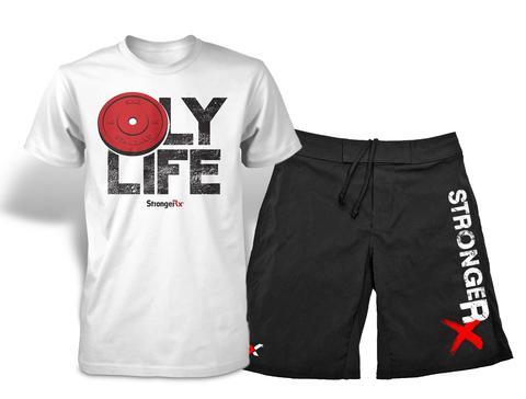 StrongerRX WPtSeCpriBLSM Mens Combo 002 Shorts - Small