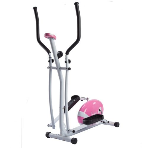 Sunny Health & Fitness P8300 Magnetic Elliptical Trainer Pink