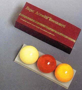 Super Professional Carom Belgian Aramith Billiard Ball Set (3 Ball Set) from Imperial International