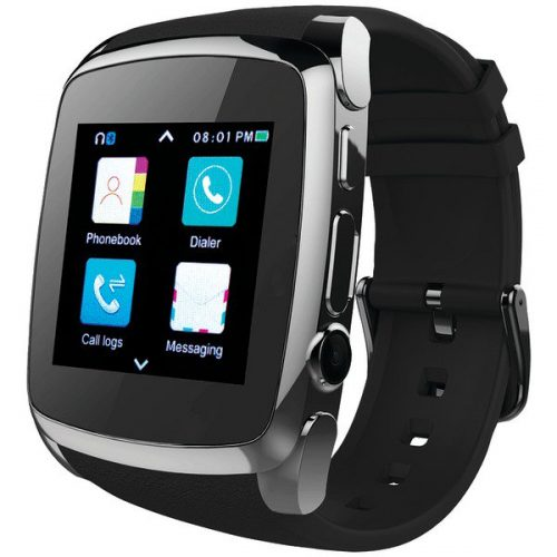 Supersonic SC-64SW Bluetooth Smart Watch with Call Feature Black