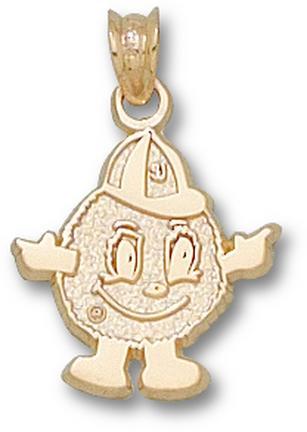 """Syracuse Orangemen """"Orangemen Mascot"""" Pendant - 10KT Gold Jewelry"""