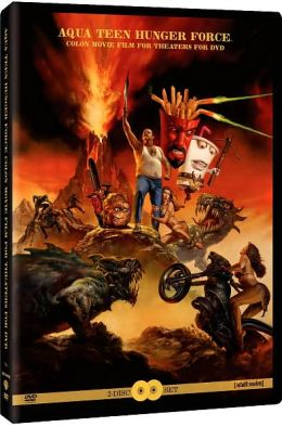 TRN DT7919D Aqua Teen Hunger Force Colon Movie Film for Theaters - Matt Maiellaro