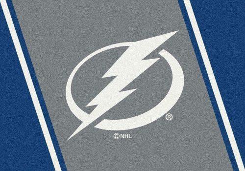 "Tampa Bay Lightning 3' 10"" x 5' 4"" Team Spirit Area Rug"