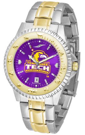 Tennessee Tech Golden Eagles Competitor AnoChrome Two Tone Watch