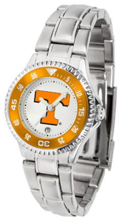 Tennessee Volunteers Competitor Ladies Watch with Steel Band