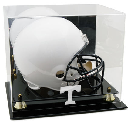 Tennessee Volunteers Logo Golden Classic Full Size Helmet Display Case