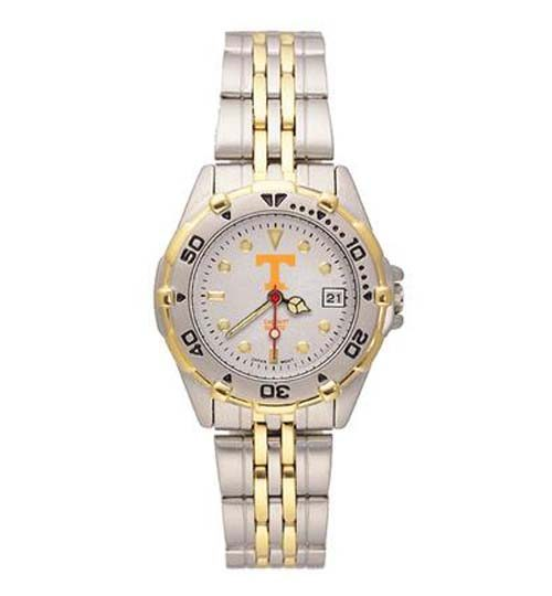 "Tennessee Volunteers ""T"" All Star Watch with Stainless Steel Band - Women's"