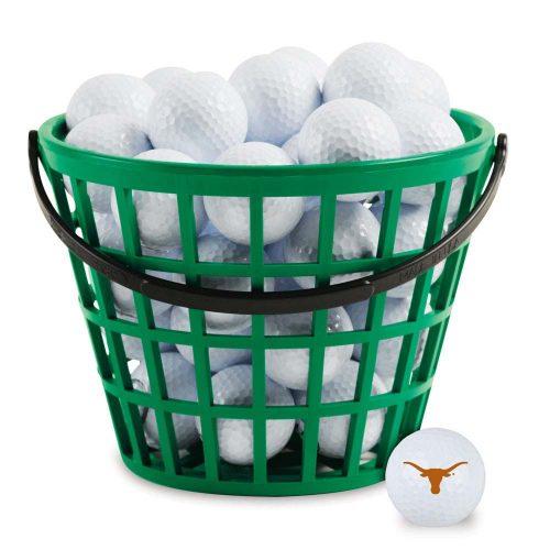 Texas Longhorns Golf Ball Bucket (36 Balls)