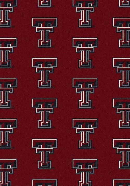 "Texas Tech Red Raiders 3' 10"" x 5' 4"" Team Repeat Area Rug"