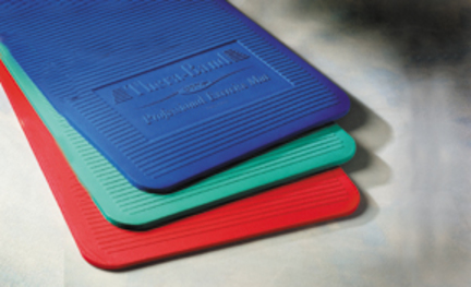 """Thera-Band® 24"""" x 75"""" x 1"""" Exercise Mat (Blue)"""