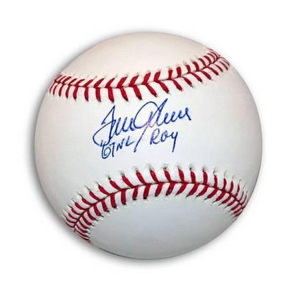 "Tom Seaver Autographed MLB Baseball Inscribed ""67 NL ROY"