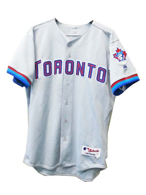 Toronto Blue Jays Major League Baseball Authentic Blank Jersey from Majestic Athletic
