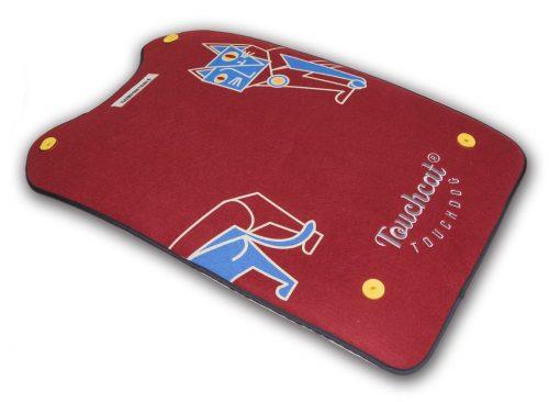 Touchcat PB74RDMD Lamaste Designer Pet Bed Red - Large