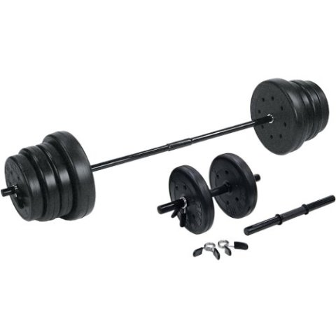 Traditional Weight Set With Dumbbells - 105 lbs.