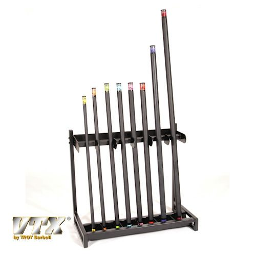 Troy Barbell GTBR-24 Troy Bar Vertical Storage Rack - Holds Up To 24 Troy Bars