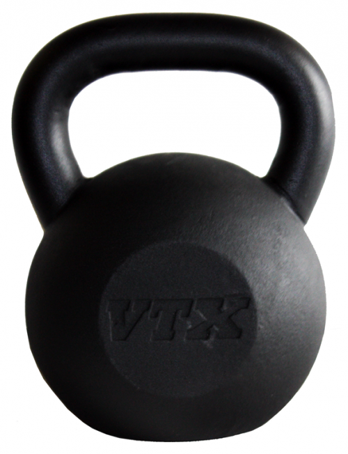 Troy Barbell KB-025G2 25 lbs Cast Iron Kettlebell Black