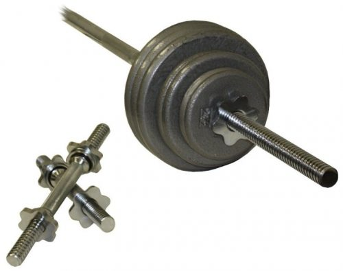 Troy Barbell RSS-110T Gray 110 Pound Weight Set